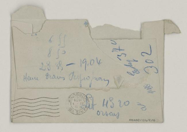Roland Penrose's letter to Pablo Picasso, dated 21 January 1939