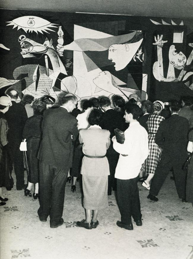 The exhibition Picasso at the Musée des Arts Décoratifs