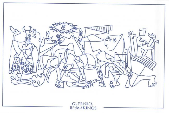 Guernica Remakings. Postcards