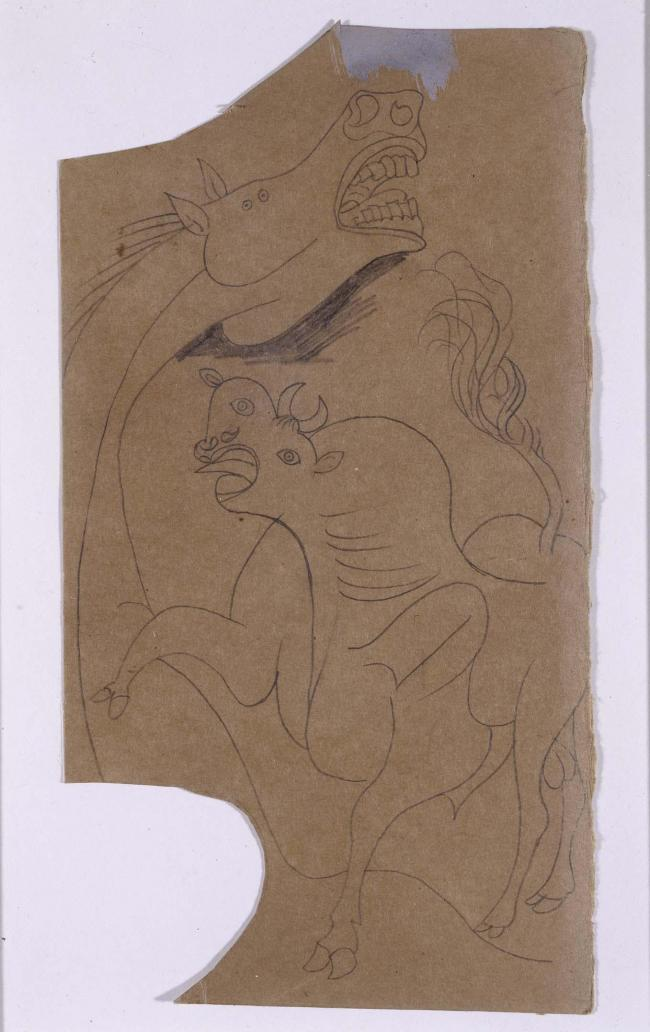 Horse and Bull. Sketch for Guernica