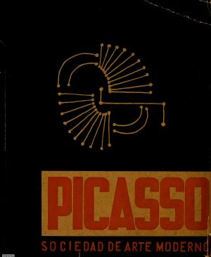 Exhibition catalogue for Picasso, organised by the Sociedad de Arte Moderno , Mexico