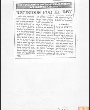 Archivo de prensa de Javier Tusell, director general de Bellas Artes