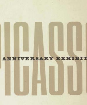 Catalogue of the exhibition Picasso: 75th Anniversary Exhibition