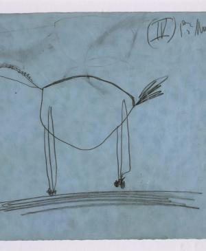Study for the Horse [IV]. Sketch for Guernica