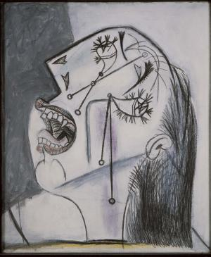 Weeping Woman's Head [I]. Postscript of Guernica