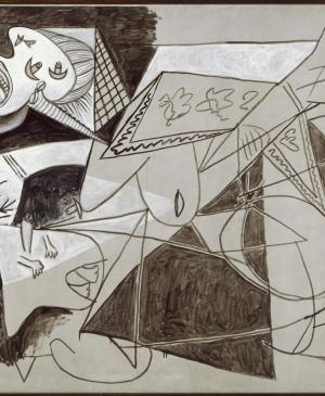 Mother with Dead Child [II]. Postscript of Guernica