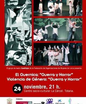 "Guernica: ""War and Horror"". Gender Violence: ""War and Horror"""