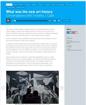 RRS - What was the new art history