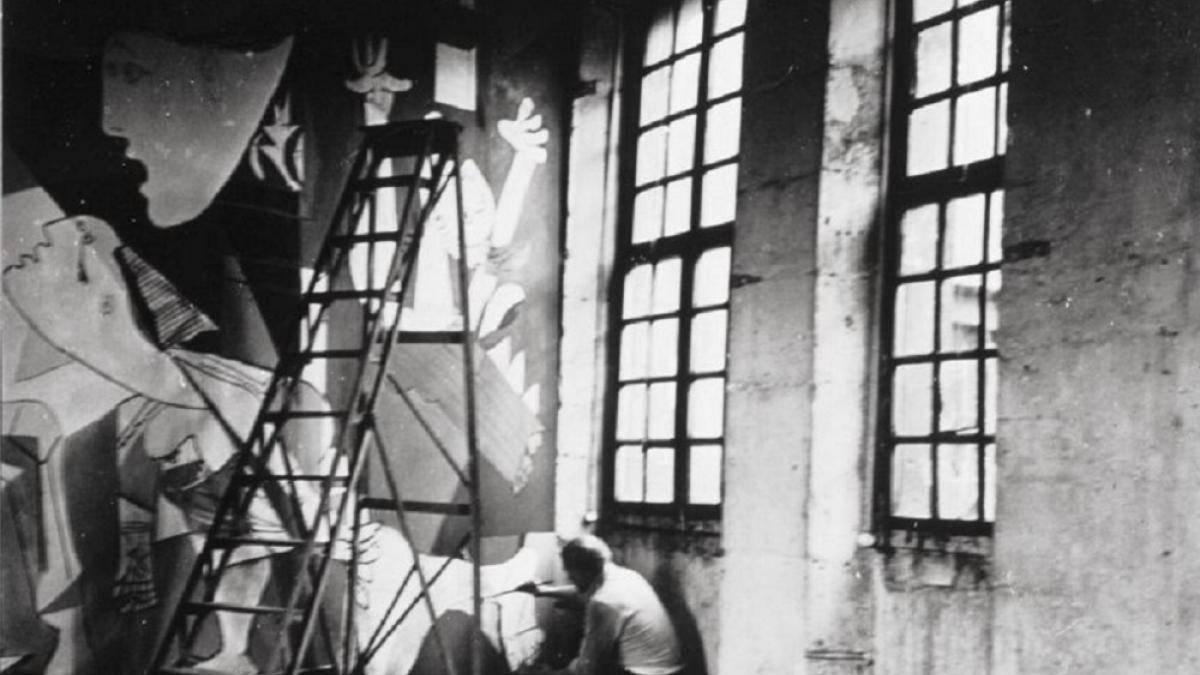 Picasso's Studio, 7 rue Grands Augustins, Paris