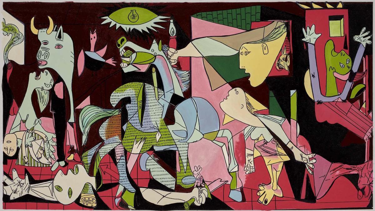 Homenaje a Picasso: Guernica