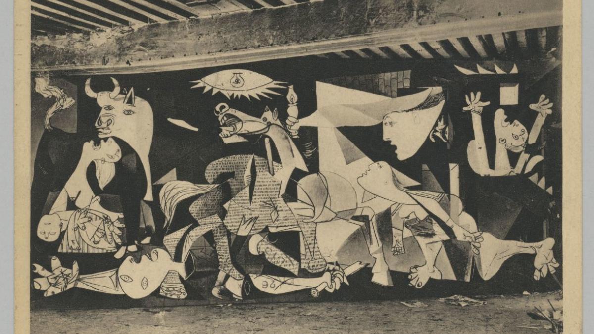 Postal de Paul Éluard para Pablo Picasso