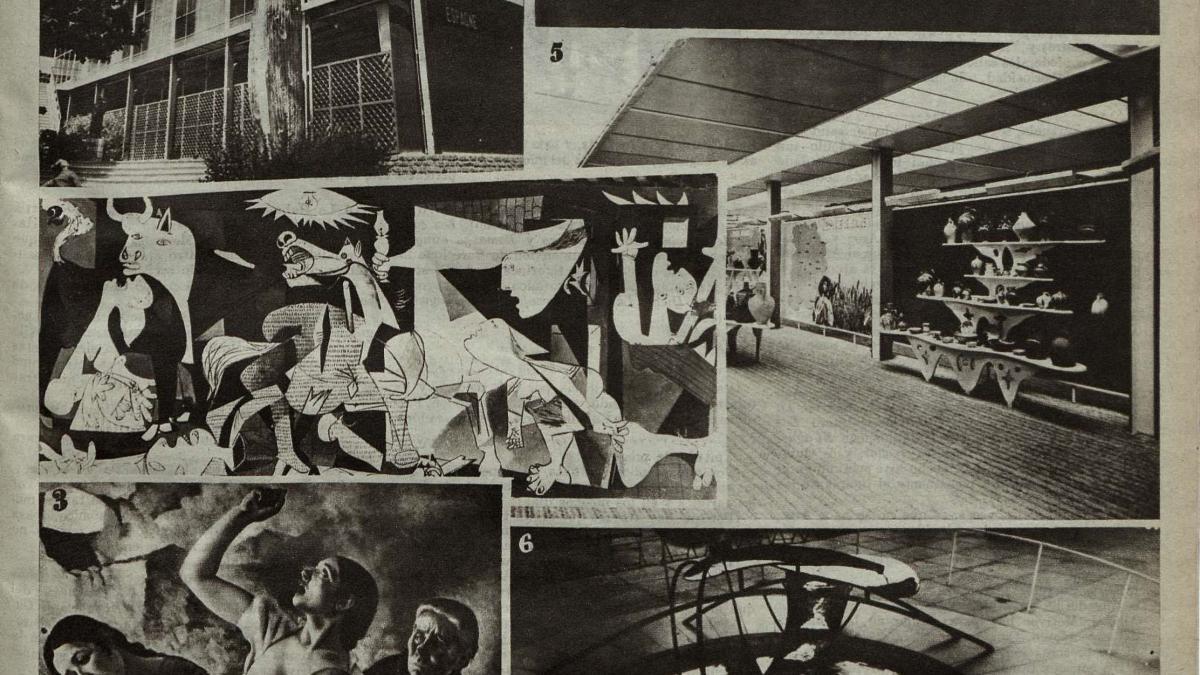 El Pabellón Español en la Exposición Internacional de París