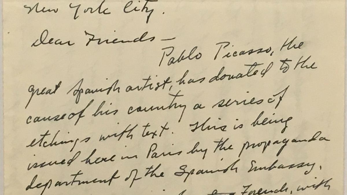 Carta de Paul P. Rogers al North American Committee to Aid Spanish Democracy
