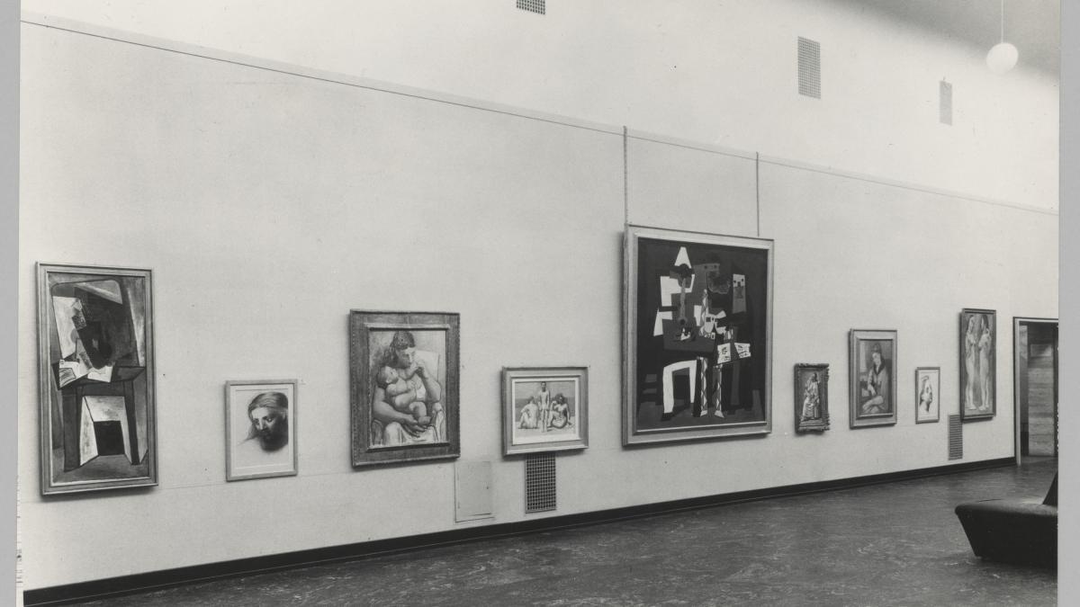Vistas de la exposicion <em>Matisse, Picasso, Braque, Laurens</em> en el Kunstnernes Hus de Oslo