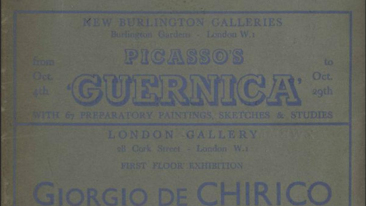 «Guernica», artículo aparecido en London Bulletin