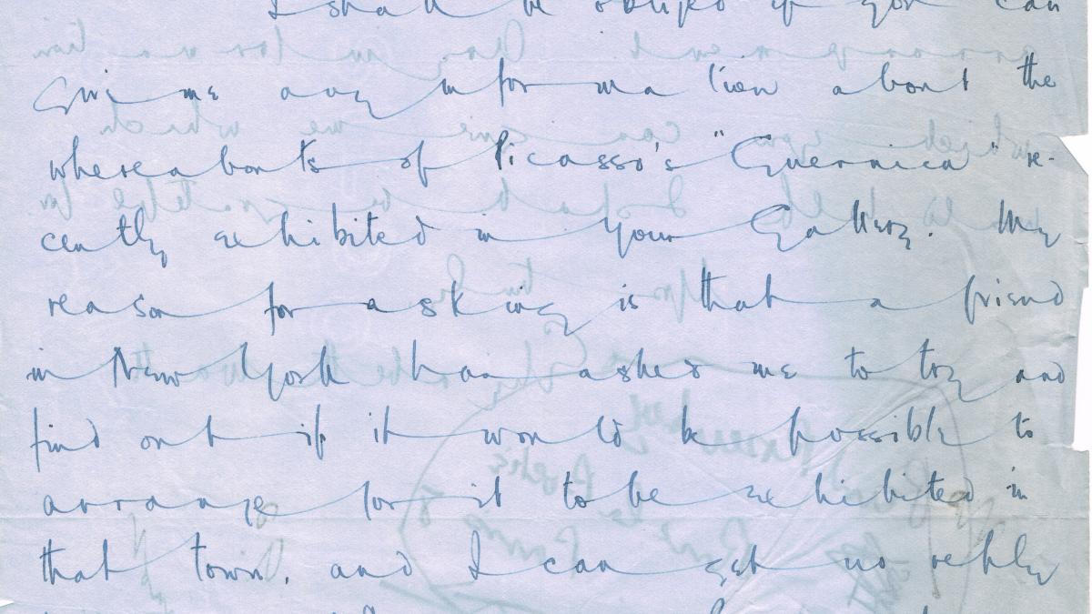 Carta de Elizabeth Watt a J.N. Duddington del 25 de enero de 1939