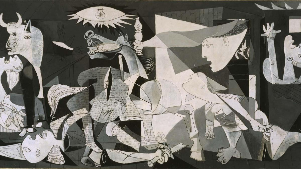 The absent image. Picasso in the cinema