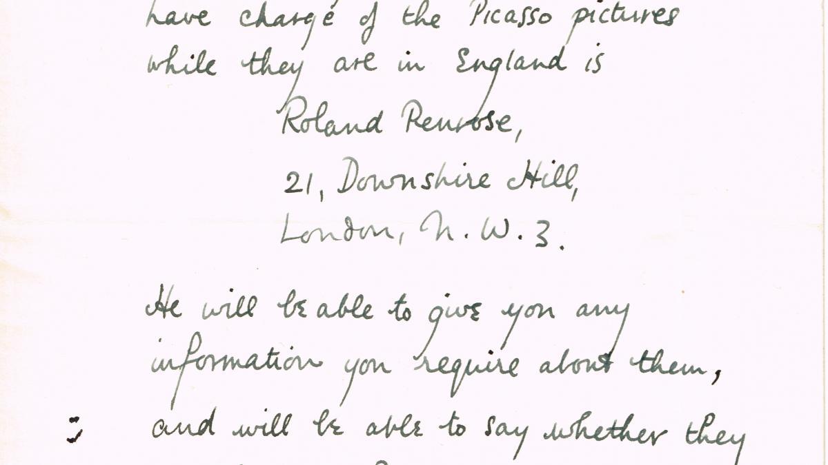Carta de W. J. A. Busby a J.N. Duddington