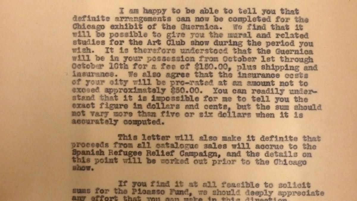 Evelyn Ahrend's letter to Charles Goodspeed, dated 21 June 1939