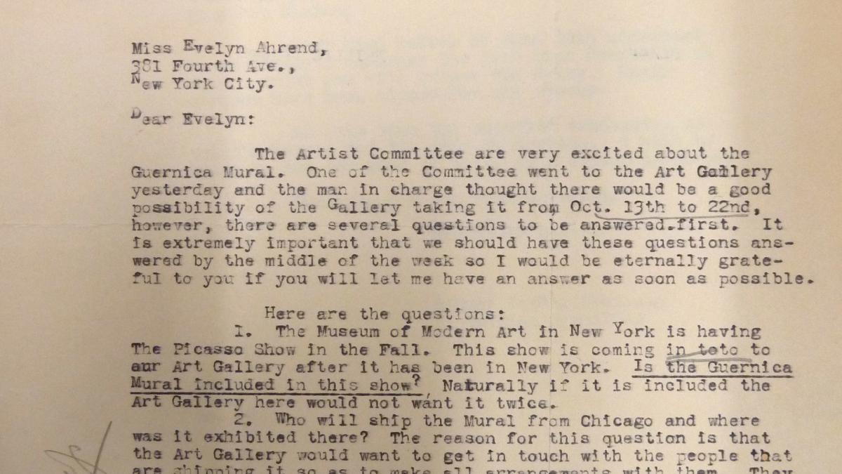 Phyllis Lane's letter to Evelyn Ahrend, dated 29 July 1939