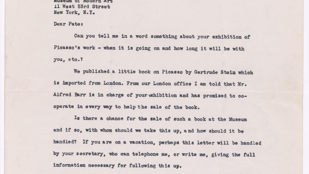 Carta de Whitney Darrow a Julian Street Jr.