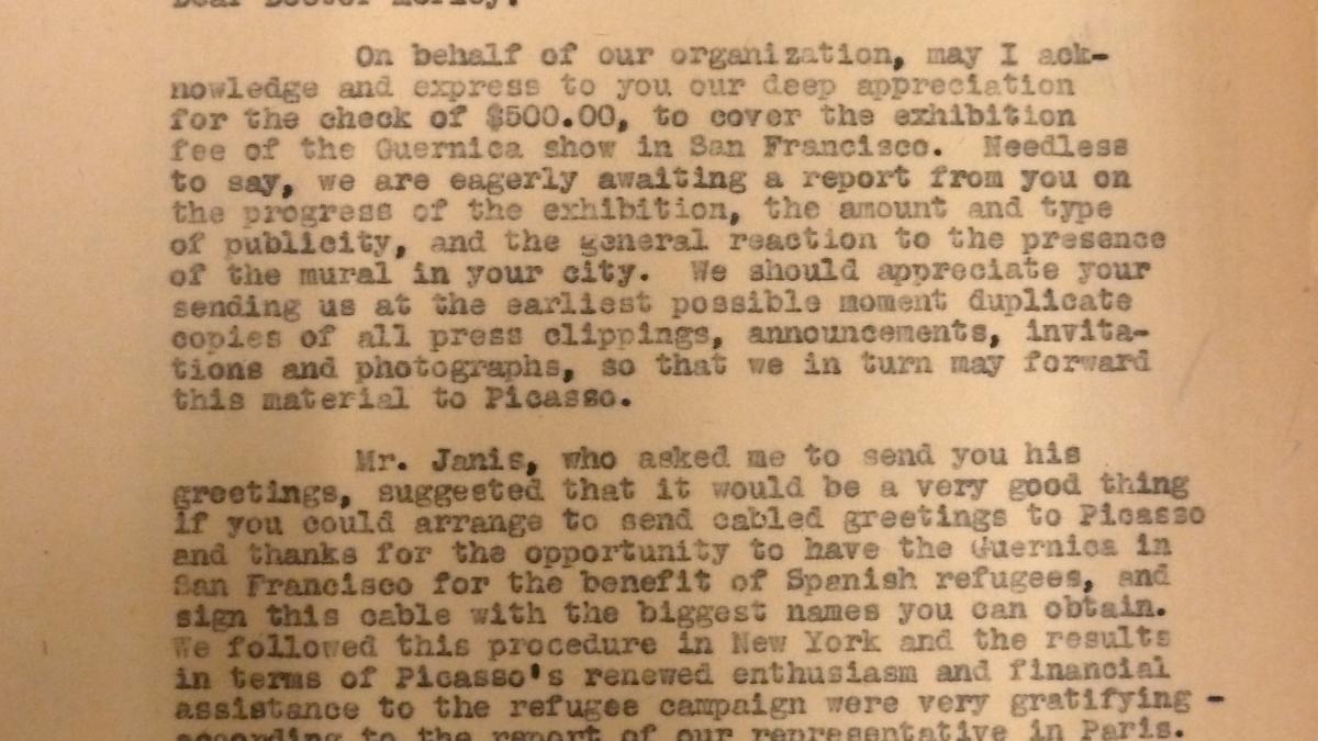 Carta de Evelyn Ahrend a Grace L. McCann Morley del 8 de septiembre de 1939