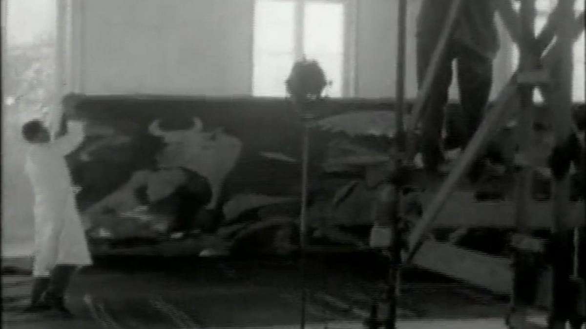 Picasso en Skeppsholmen