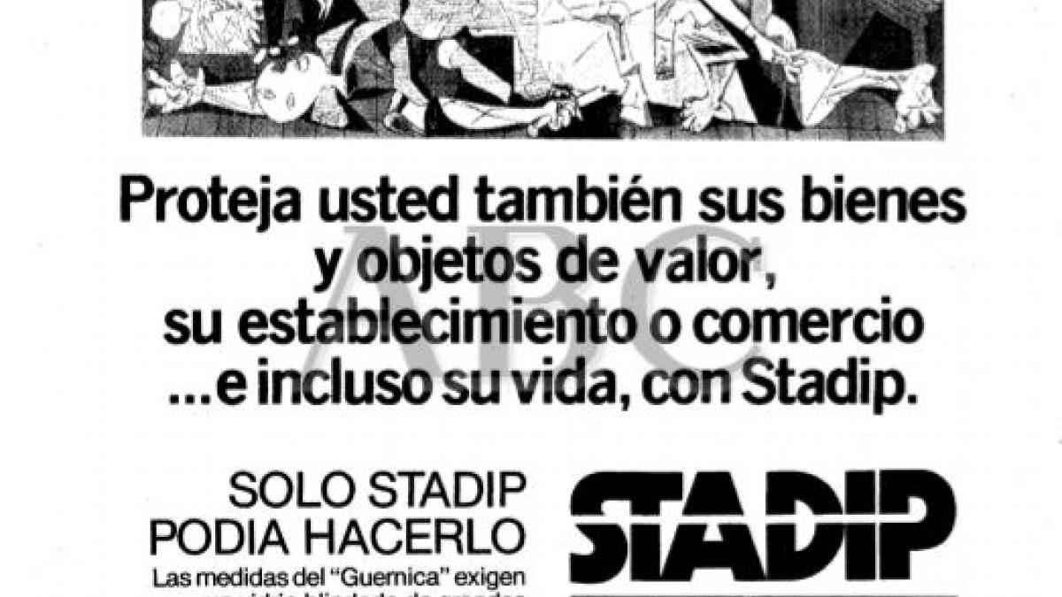 El Guernica protegido y seguro con acristalamiento blindado Stadip