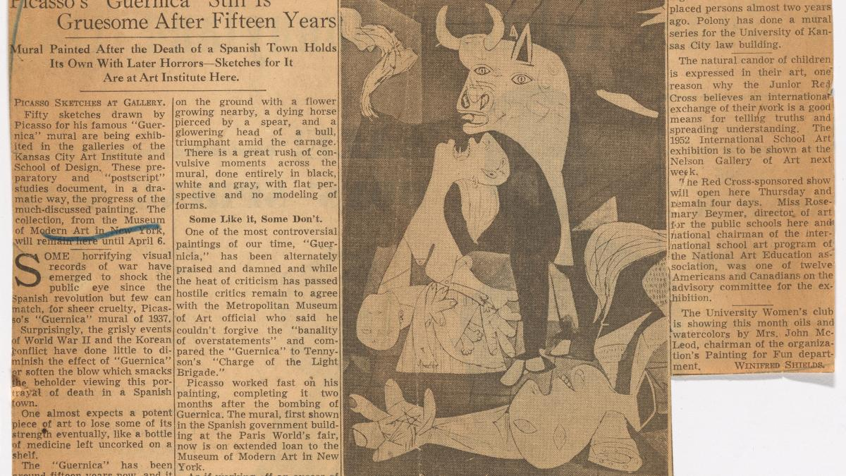 Picasso's Guernica still is gruesome after fifteen years