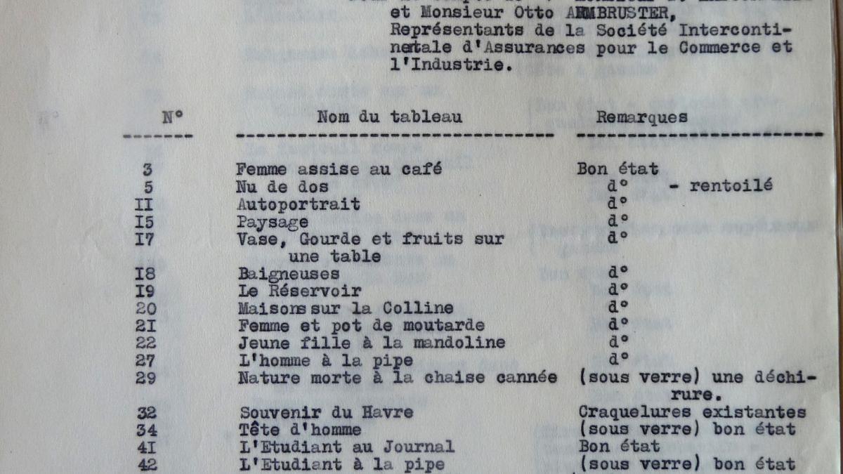 Carta de J. Malesset al Musée des Arts Décoratifs
