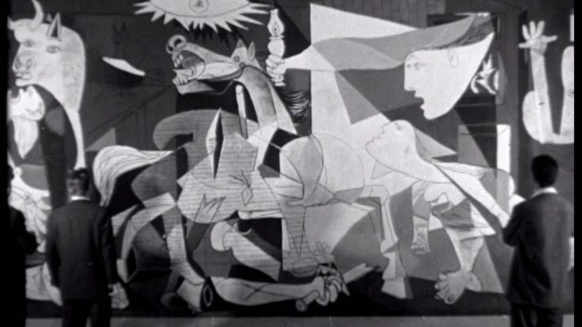 Exposición de Picasso en París