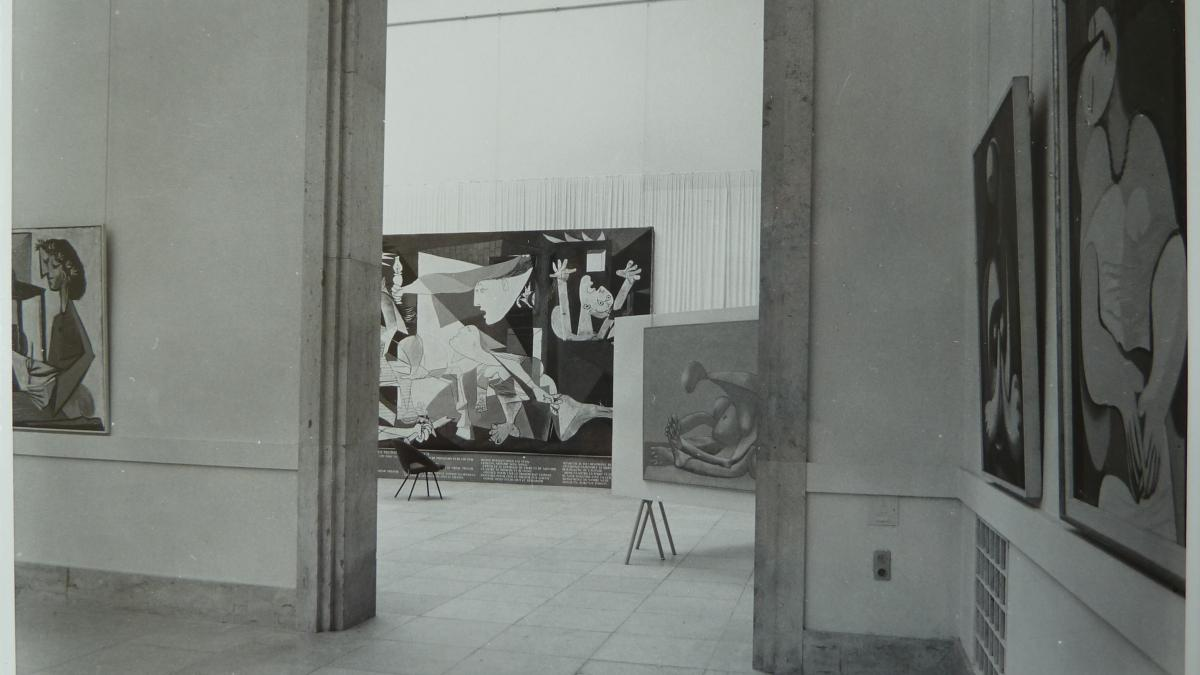 The exhibition Picasso 1900–1955