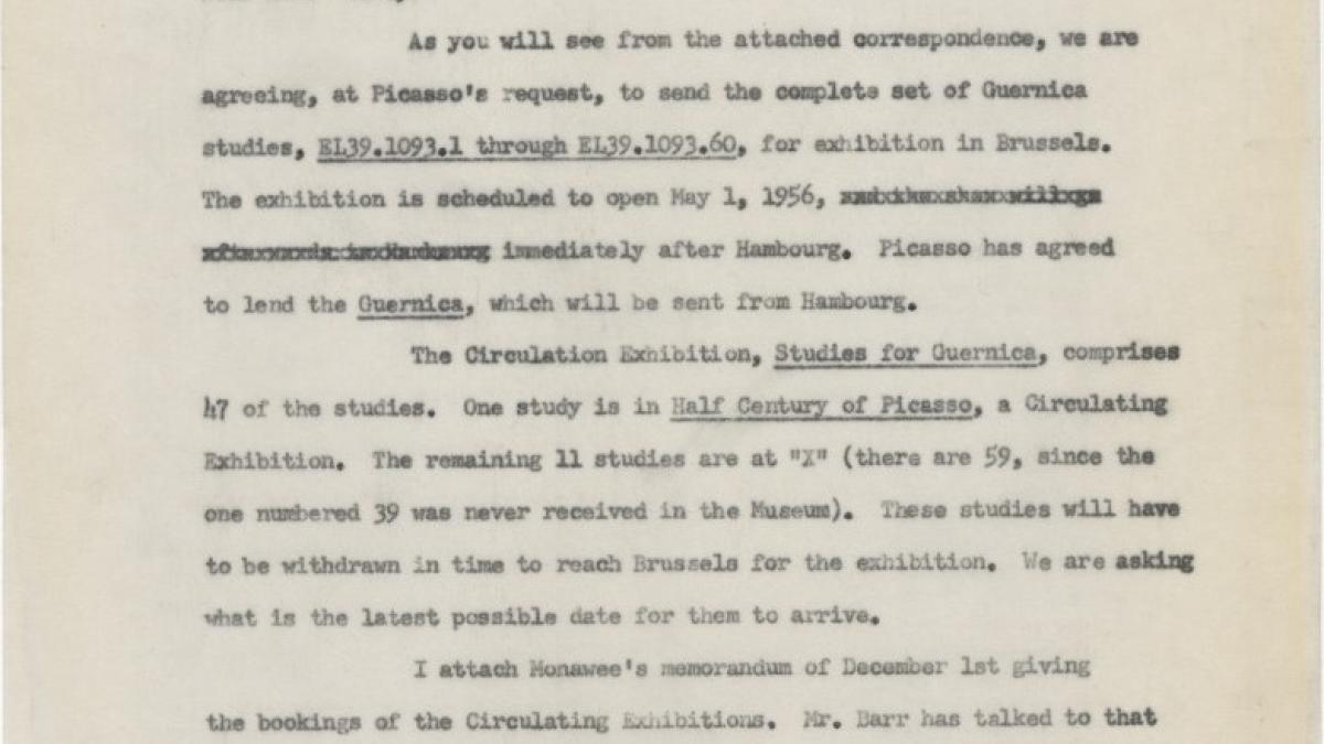 Carta de Marie Alexander a Dorothy Dudley