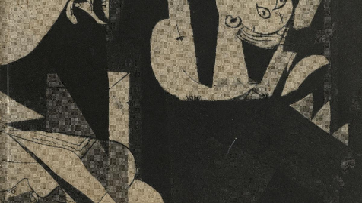 Catálogo de la exposición Guernica: avec 60 études et variantes, Ámsterdam y Bruselas