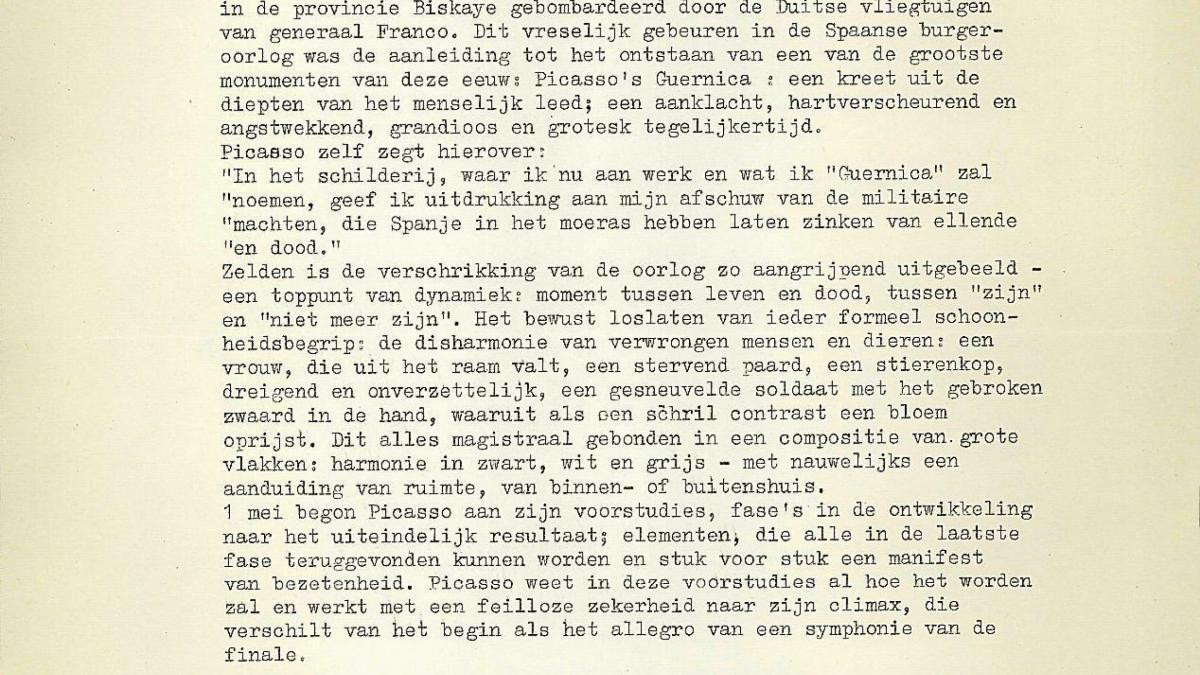 Historia ycronología de Picasso y memoria del proyecto de la exposición de Rodin
