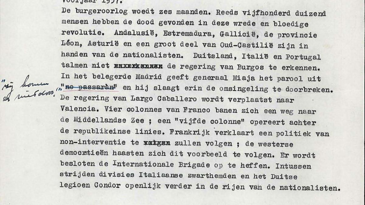 Texto de Emil Langui para el catálogo de la exposición Guernica, avec 60 études