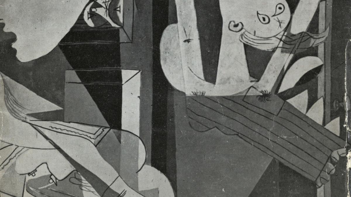 Guernica, avec 60 études, Nationalmuseum, Stockholm
