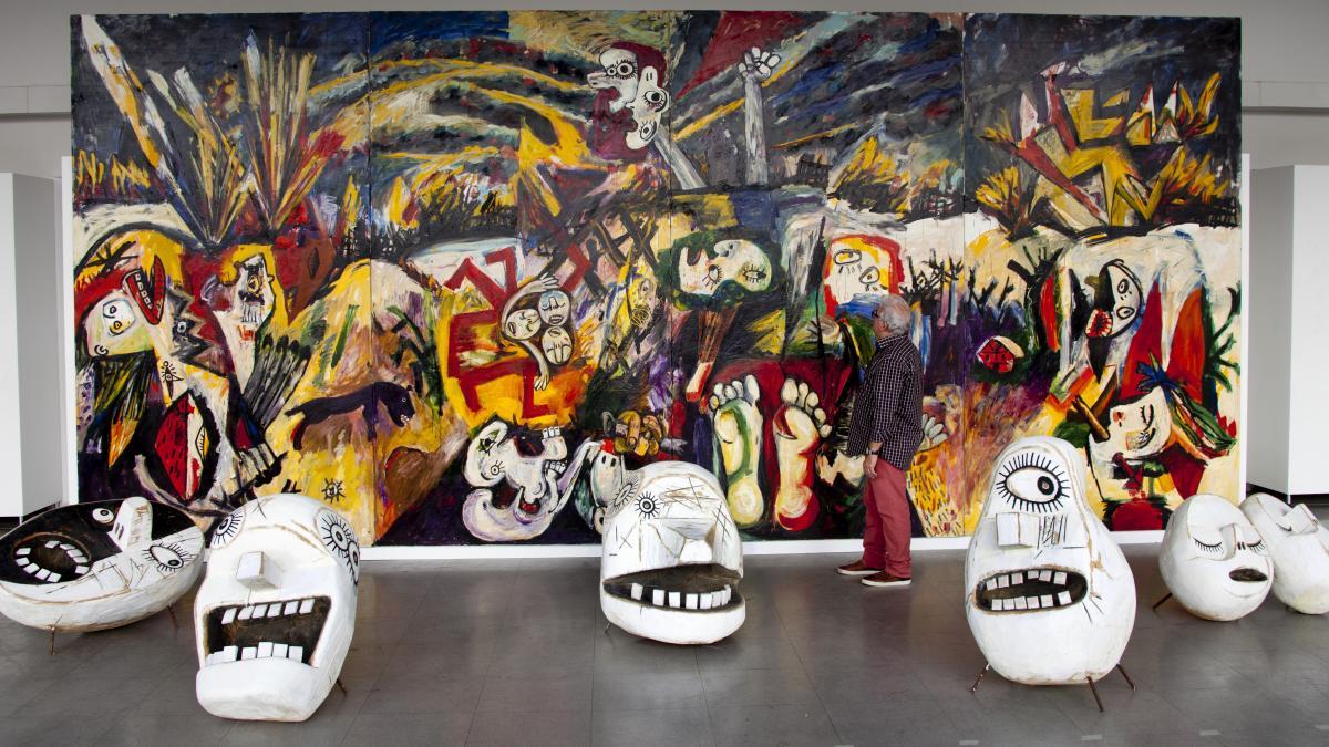 Homenaje a Guernika de Picasso