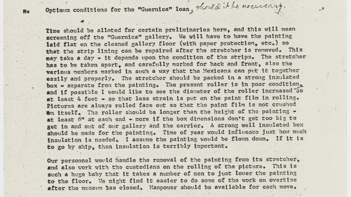 Carta de Jean Volkmer a Bates Lowry