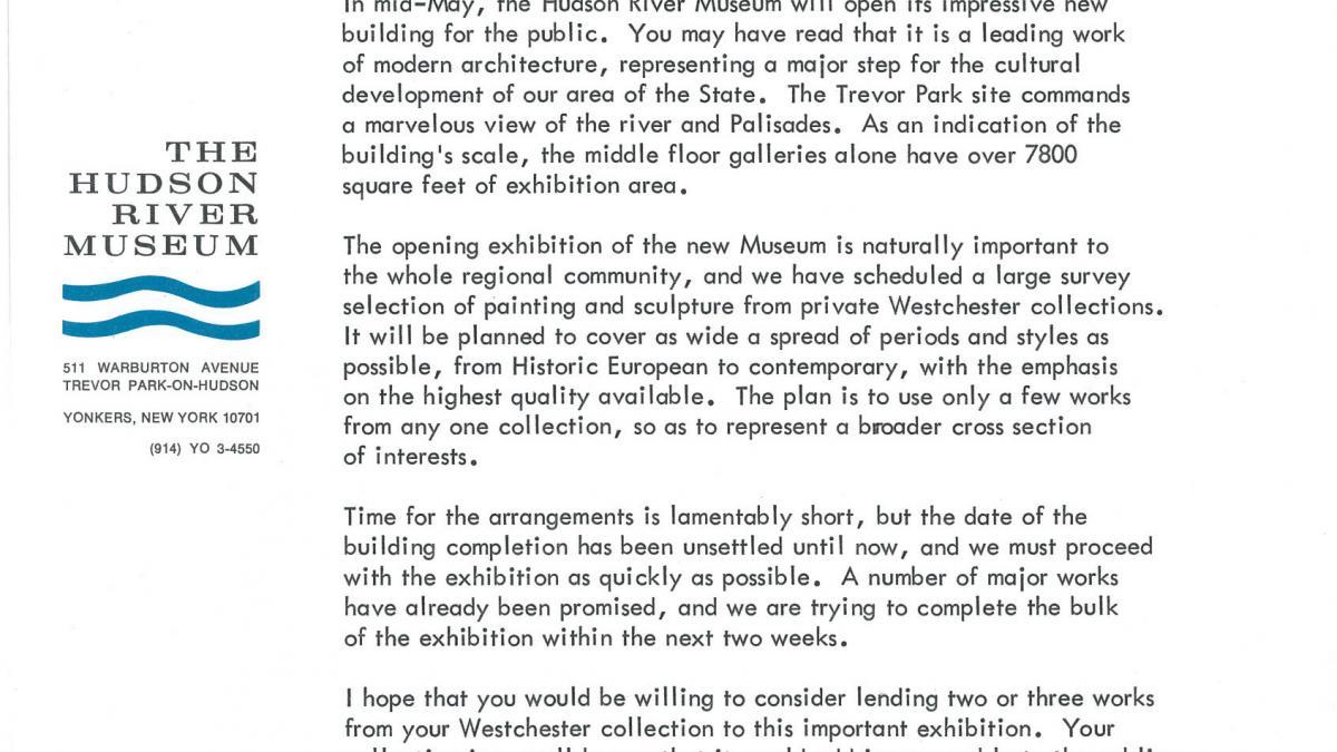 Donald M. Jr. Halley's letter to Nelson Rockefeller