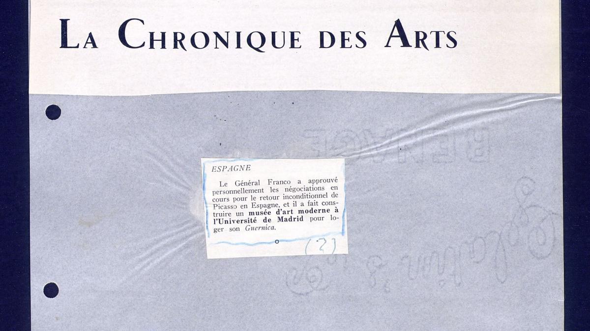 La Chronique des Arts