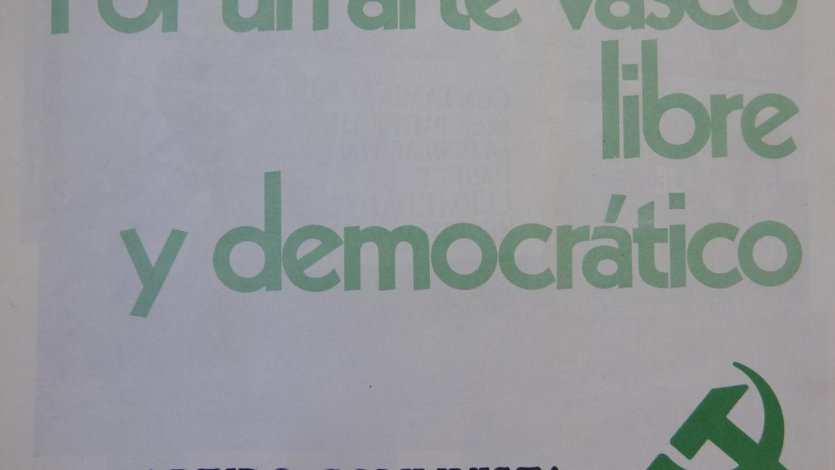 Por un arte vasco libre y democrático