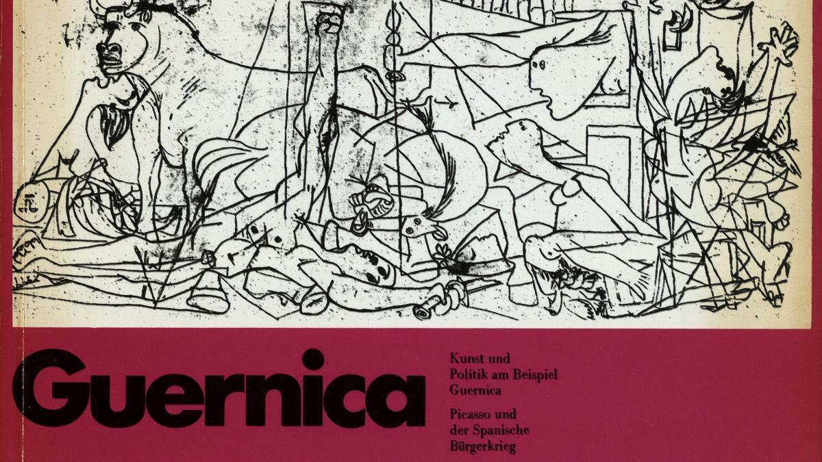 Exhibition catalogue for Kunst und Politik am Beispiel Guernica. Picasso und der Spanische Bürgerkrieg