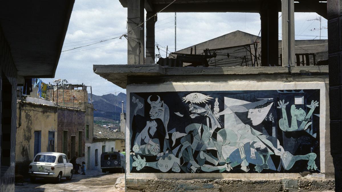 Mural en Cartagena