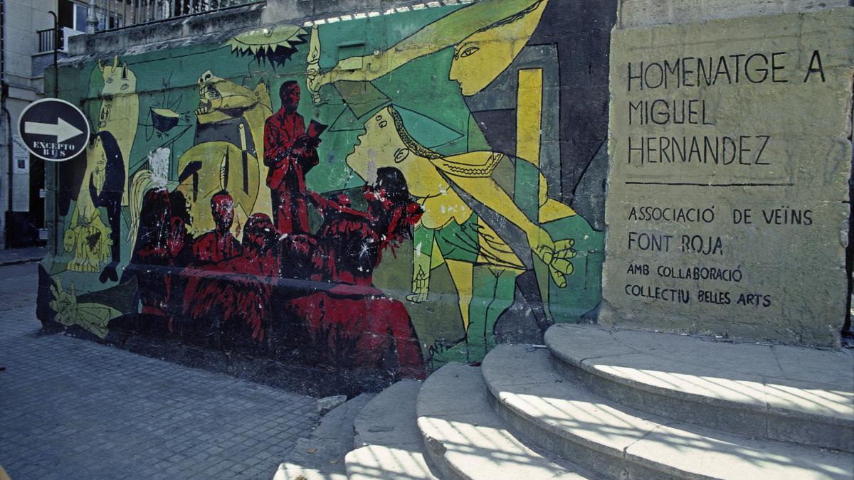 Mural in Alcoy
