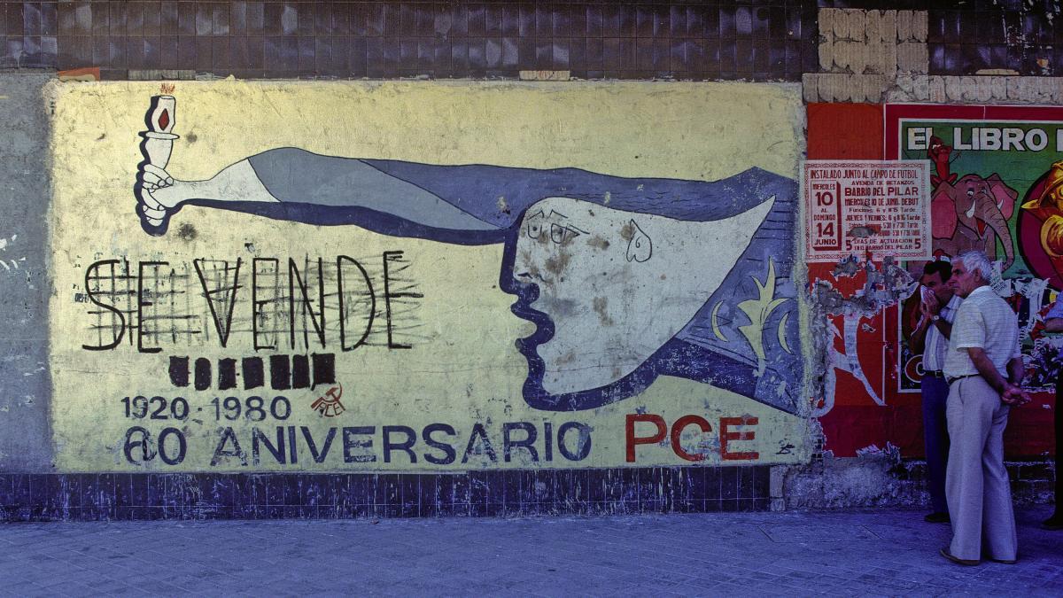Mural del 60 aniversario del PCE