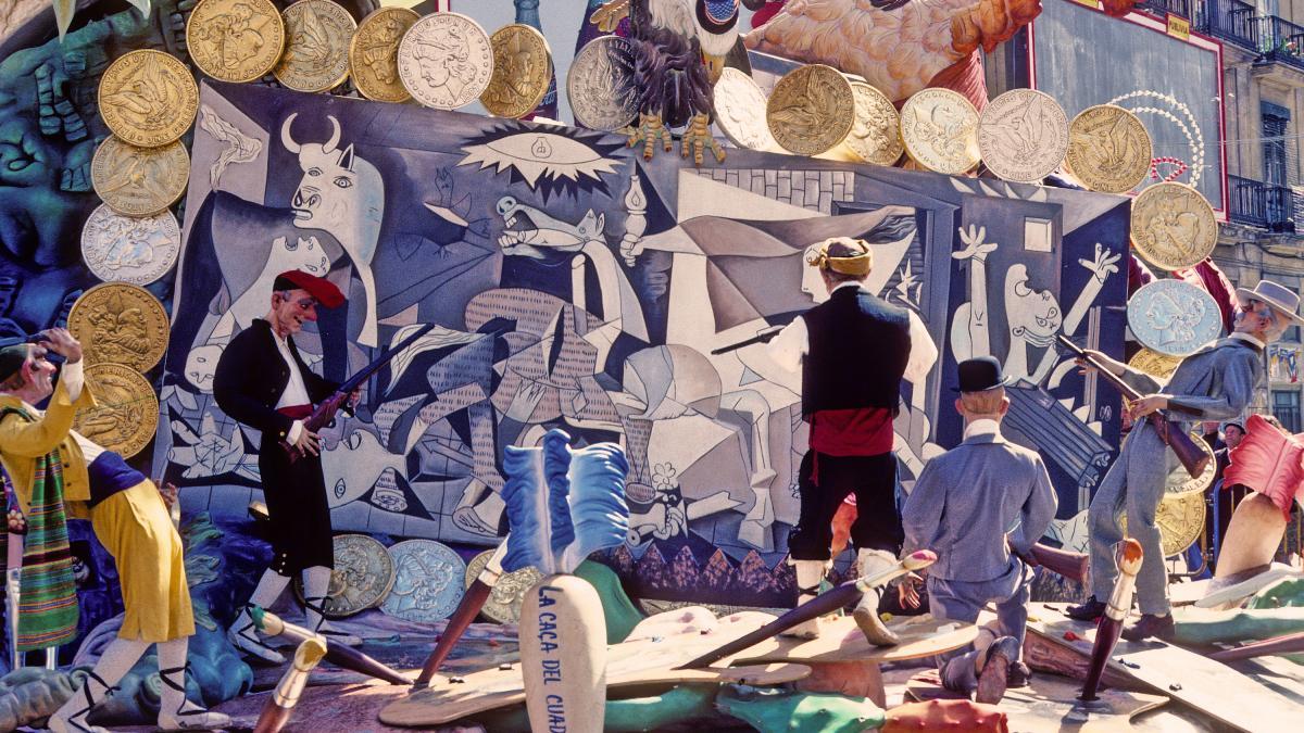Guernica en las Fallas de Valencia