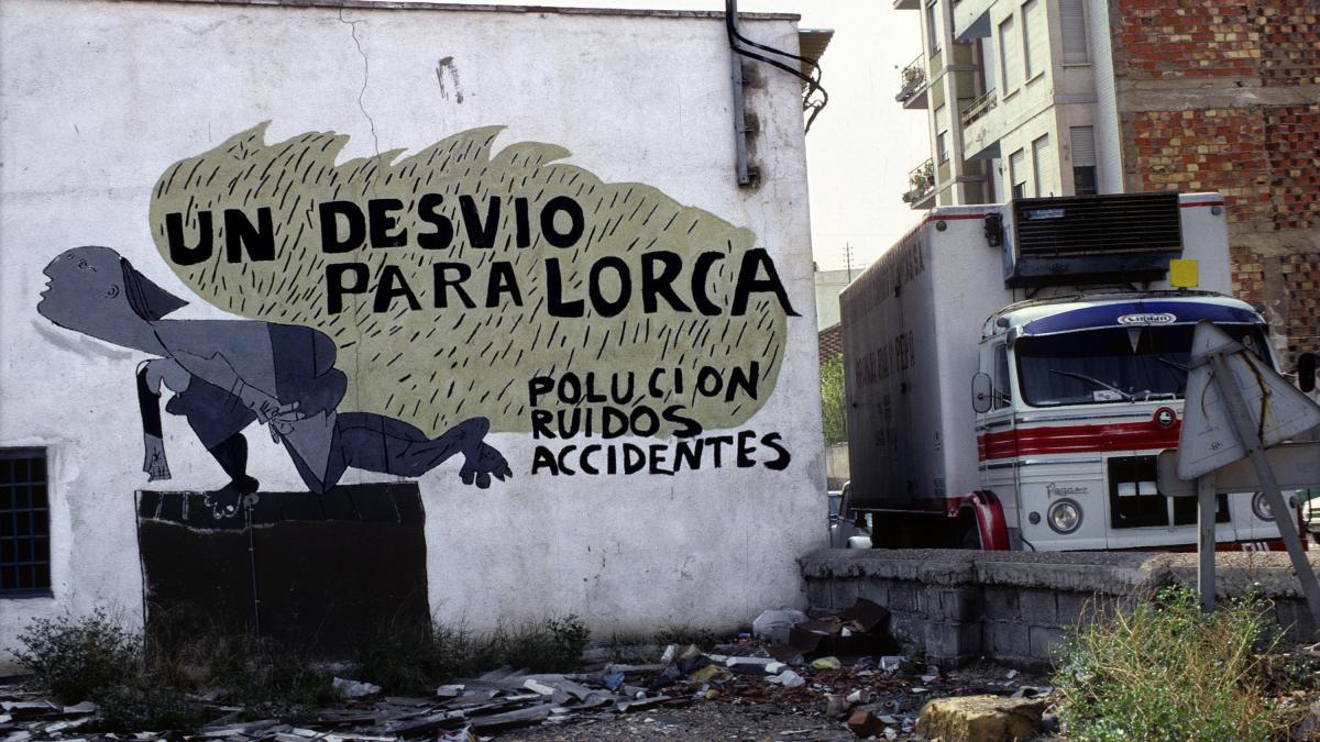 Mural en Lorca