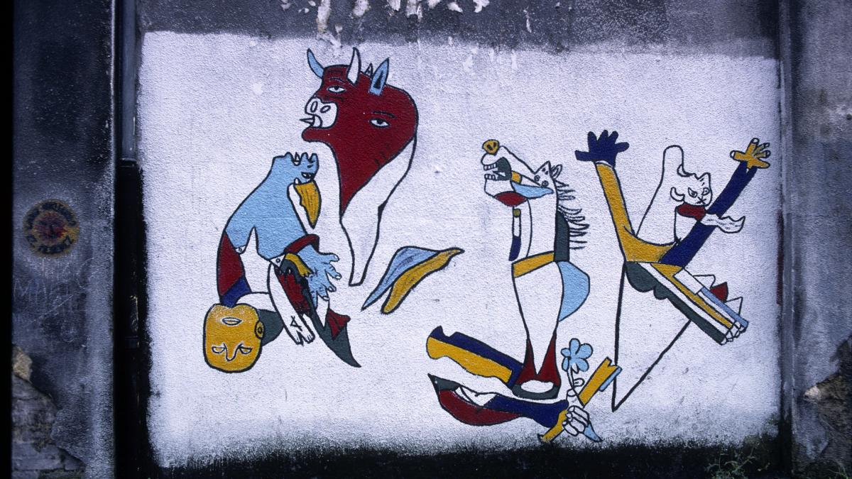 Mural en Durango