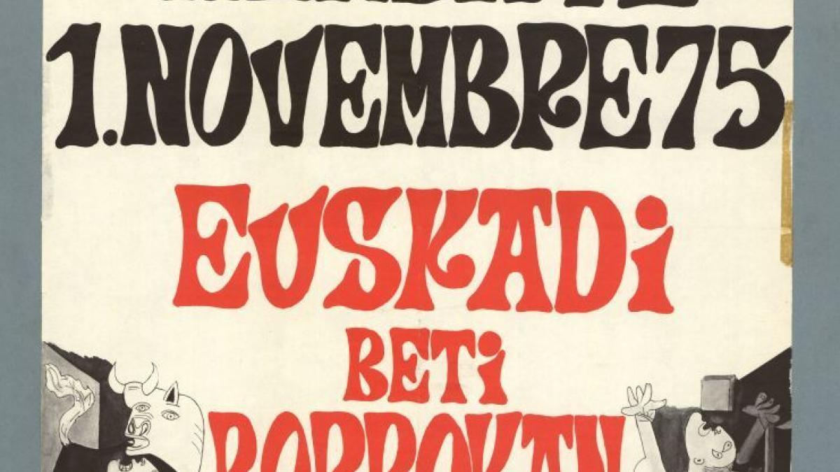 Marche sur Hendaye, 1 November 75. Euskadi Beti Borrokan